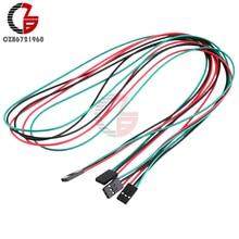 10 шт. 70 см 3Pin женский джемпер провода DuPont кабели для Arduino Reprap принтера