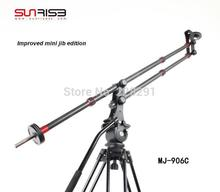 Free shipping carbon fiber Sunrise portable mini JIB crane camera