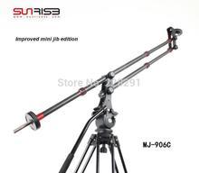 Free shipping carbon fiber Sunrise portable mini JIB crane camera