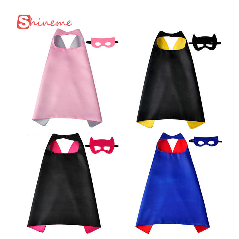 Detail Feedback Questions about 1Cape+1 Mask Child costumes