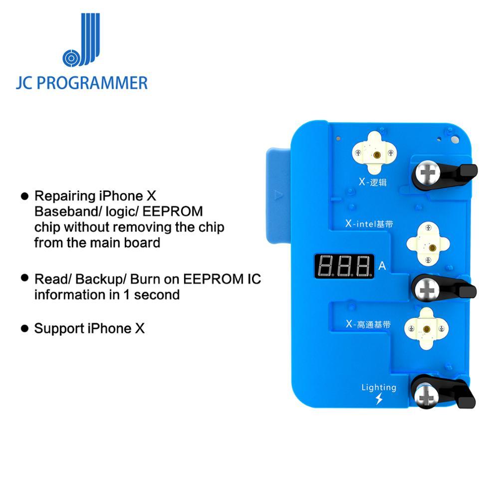 JC PRO1000S lógica Baseband IC Chip Programador Ler e Escrever para o iphone X EEPROM