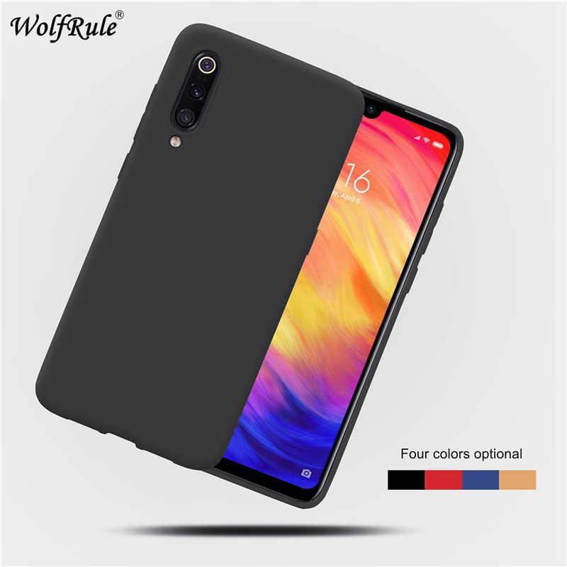 Étui sFor Xiao mi 9 étui souple en Silicone liquide souple pour Xiao mi 9 étui de protection arrière pour Xiao mi 9 mi Coque
