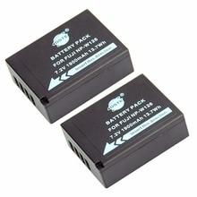 DSTE 2PCS NP-W126 np-w126 NP-W126S Camera Battery for Fuji HS50 HS35 HS33 HS30EXR XA1 XE1 X-Pro1 XM1 X-T10
