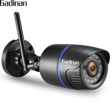 GADINAN Yoosee Bullet Outdoor Camera WiFi ONVIF IP Camera HD 1080P 960P 720P Wireless Wired P2P Alarm With TF Card Slot Max 128G