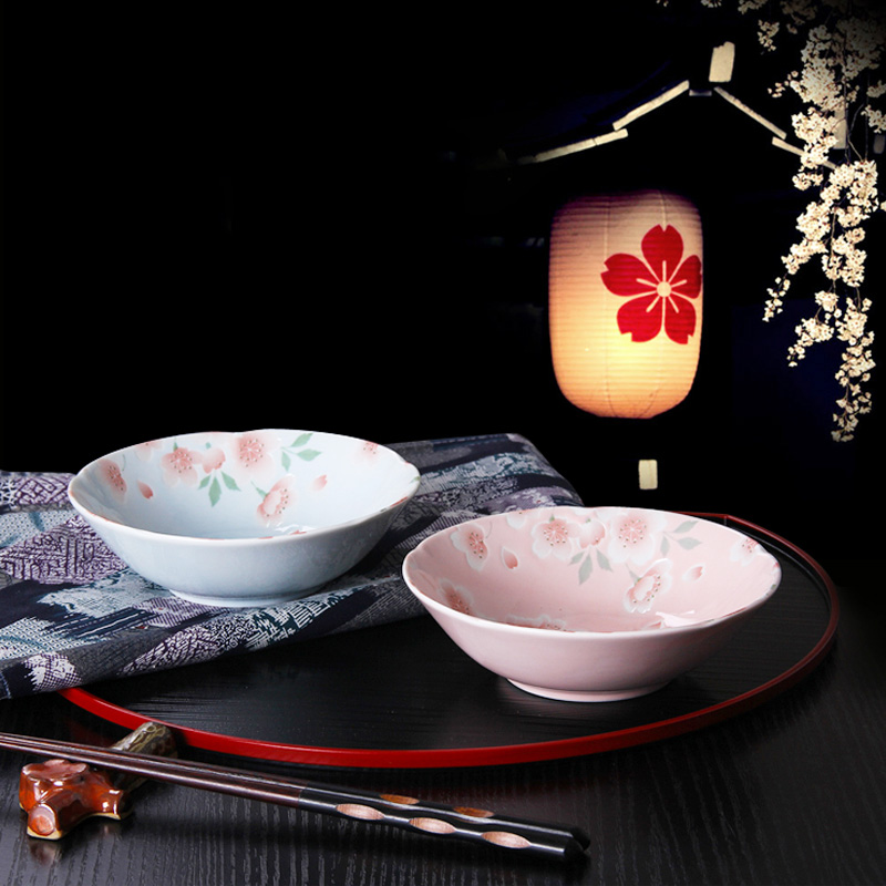 4.5 Inch Made In Japan Cute Fruit Salad Dessert Noodles Food Container Ceramic Soup Bowls Creative Porcelain Cutlery Tableware