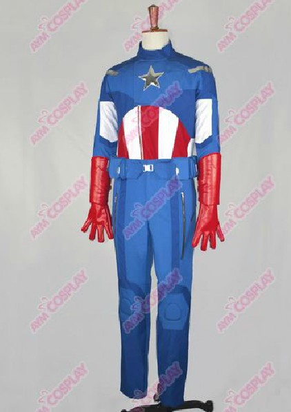 New Arrival The Avengers Captain America Movie Cosutme Cosplay Custom Made