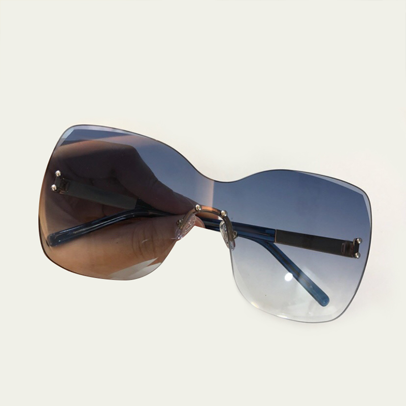 Feminino Le Dell'annata Sol no4 Sunglasses Occhiali De Di Sunglasses Sunglasses 2019 Donne Alta Uv400 Da Sunglasses Sunglasses Lente Modo Sole Piazza no5 Qualità Rimlessr Sunglasses Per Oculos No1 no2 no3 no6 RO7YaqY6w