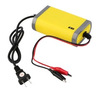 12V 2A Intelligent Auto Car Battery Charger Voltage Rechargeable Battery Power Charger 220V Automatic Power Supply