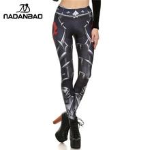 NADANBAO Brand New Women Leggings Spring Summer WOW OF THE HORDE Leggins Printed Woman Legging Women Pant