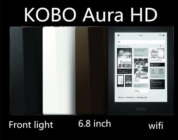 Kobo aura hd 6.8novo leitor de ebook onyx livro polegadas 1440x1080 e leitor de livros e-ink luz e-livros leitor likebook libros e leitor