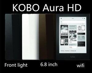 New ebook reader onyx book Kobo Aura HD 6.8 inch 1440x1080 e Book Reader e-ink Light e-books Reader likebook libros e reader