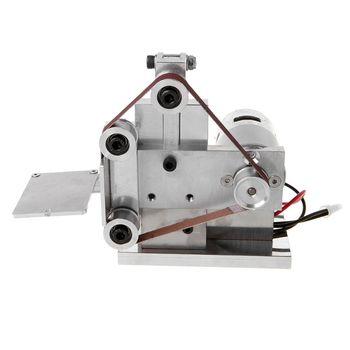 220-240V Multifunctional Mini Electric Belt Sander Grinder DIY Polishing Grinding Machine Cutter Edges Sharpener
