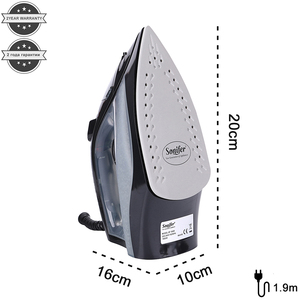 Image 3 - 1800W Household High Quality Electric Steam Irons for Clothes Multifunction Adjustable Ceramic Soleplate Hot Iron Sonifer