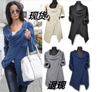 Ebay Wish European Knitting Leisure Time Suit Dress Loose Coat Europe Station New Product Best Sellers