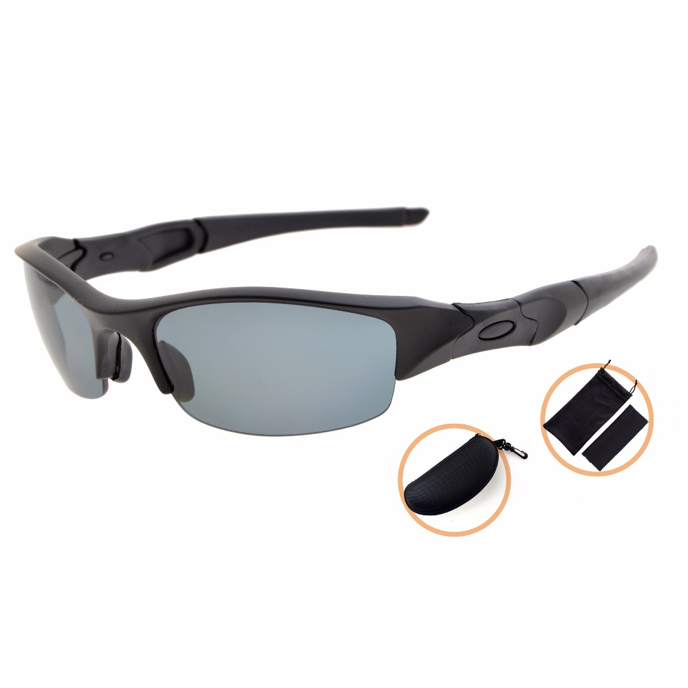 TH6166 Eyekepper TR90 Unbreakable font b Sports b font Polycarbonate Half Rimless Polarized Sunglasses