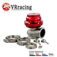 VR RACING TL V44 MVR 44mm V Band External Wastegate Kit 24PSI Turbo Wastegate With V