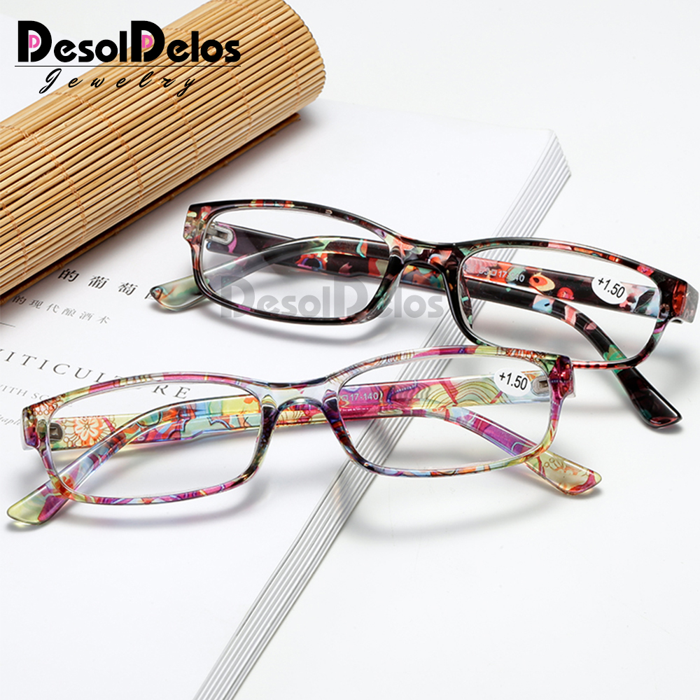 2019 New Fashion Reading Glasses Women Men Oculos De Grau Black Glasses +1.00 +1.50 +2.00 +2.50 +3.00 +3.50 +4.00 Free Shipping