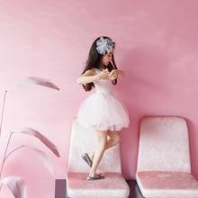 2019 princess baby girls dress summer lovely kids tutu dress for girl party clothes solid dance girl dress for 2~12 age teenager v tree flower girl dresses long sleeve baby dress princess dress for girls children dress age 10 12 teenager clothes