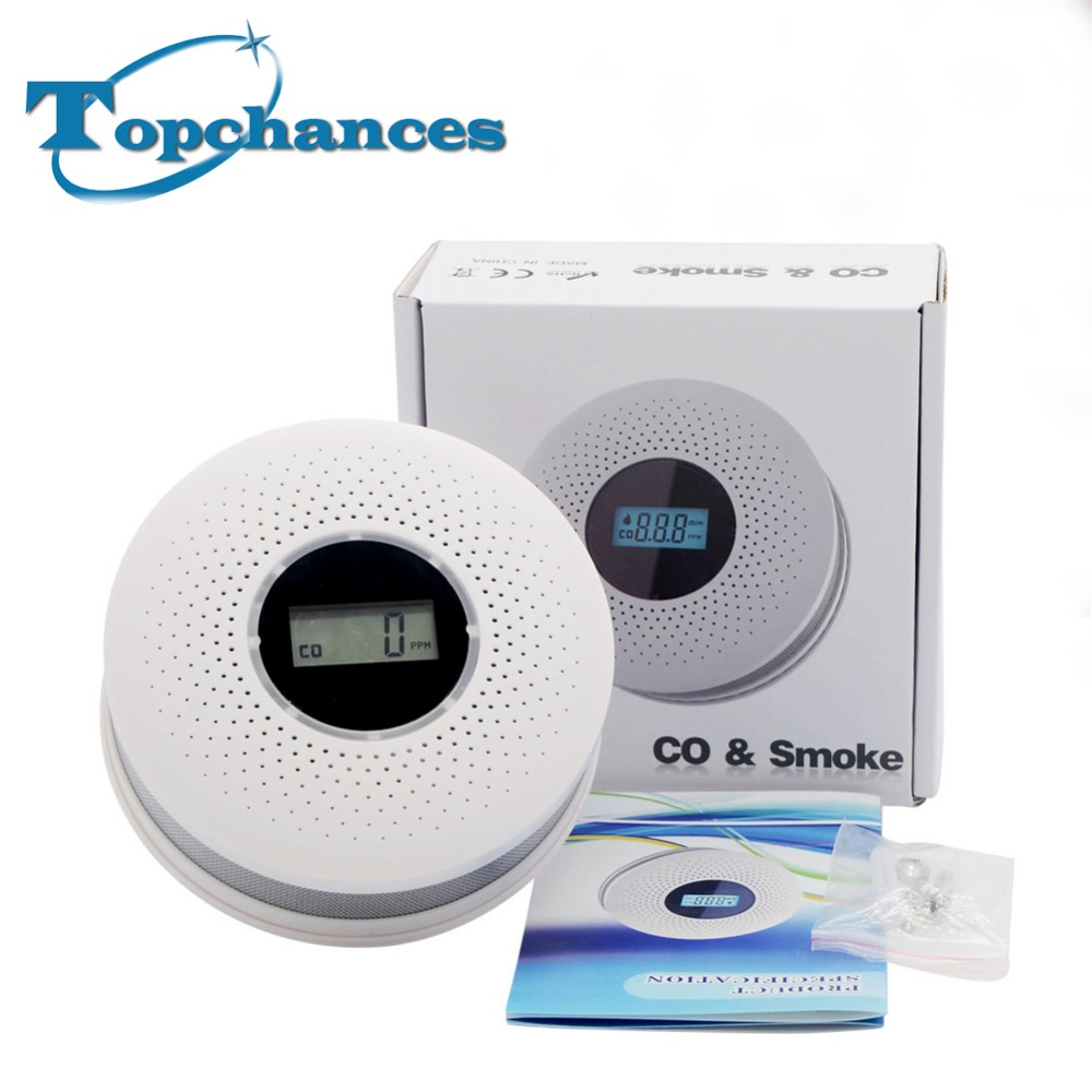 High Quality 2 in1 Combination Carbon Monoxide and Photoelectric Smoke Detector RH-512
