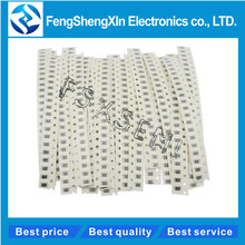 33values X20pcs=660pcs 0603 1% SMD Resistor Kit  1ohm-1M ohm  Resistors