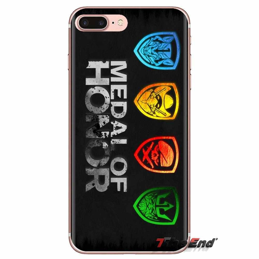 Couvertures de téléphone Médaille d'honneur Logo jeu de tir Pour HTC One U11 U12 X9 M7 M8 A9 M9 M10 E9 Plus Désir 630 530 626 628 816 820 830