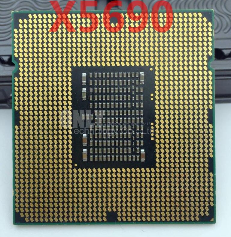 3.46Ghz //L3=12M//130W Lntel X5690 CPU Processor Six-Core Socket LGA 1366 Desktop CPU X5690