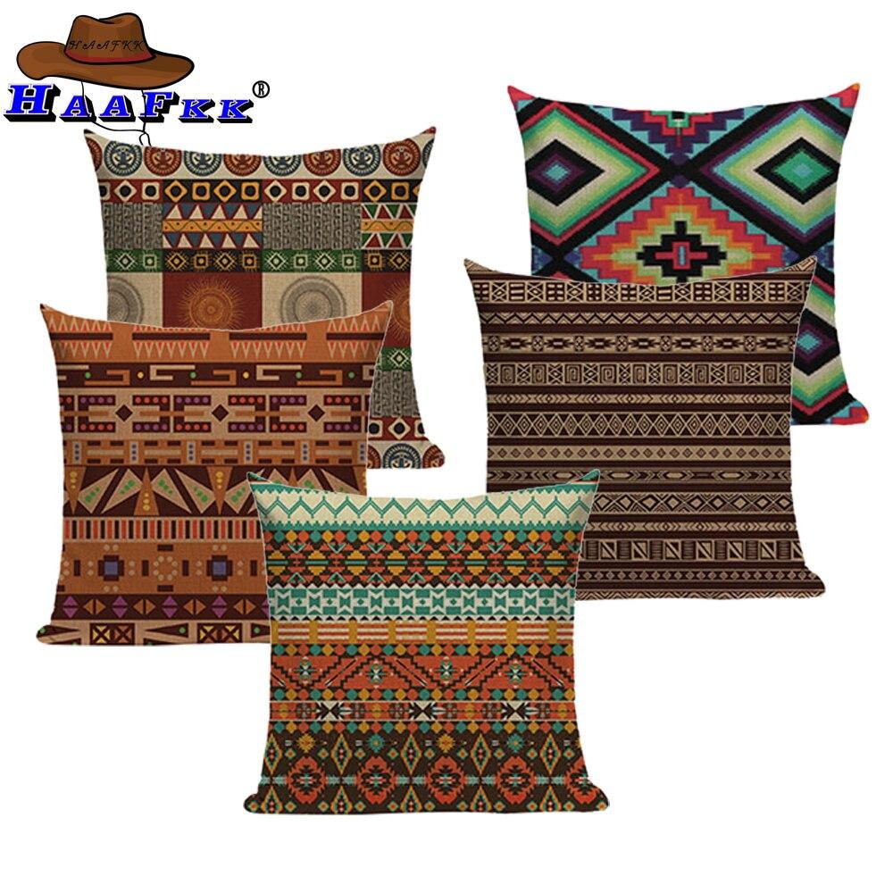 Ethnic Digital Print Cushion Cover Sofa Home Decor Pillow Decorative PillowCase
