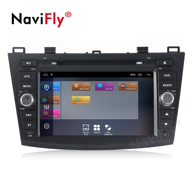 Sale Android 9.1 Car Radio Multimedia for Mazda 3 Mazda 3 maxx Axela 2010-2013 2din car dvd gps navigation player headunit 2
