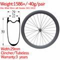 3 года гарантии супер легкая ширина 29 мм углеродный дорожный велосипед диск grave wheel 50 мм клинчер набор бескамерных колес через 12*100 12*142