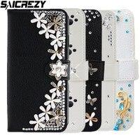Pu Diamond Leather Case Voor Red Mi S2 6 Pro 6A Note 7 8 8T 5 Plus 5A 4X4 Mi A2 Lite 5X 6X A1 Mi X 2 2 S Flip Wallet Cover