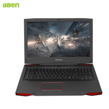Bben G17 gaming laptop computer 17.3inch windows10 intel 7th gen.  i7-7700HQ  GTX1060 video card DDR4 8GB/16GB RAMM 6GB VRAM