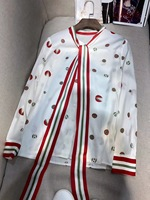 WE07572BE Модные женские блузки и рубашки 2018 взлетно посадочной полосы Элитный бренд Европейский Дизайн вечерние Стиль Женская Костюмы