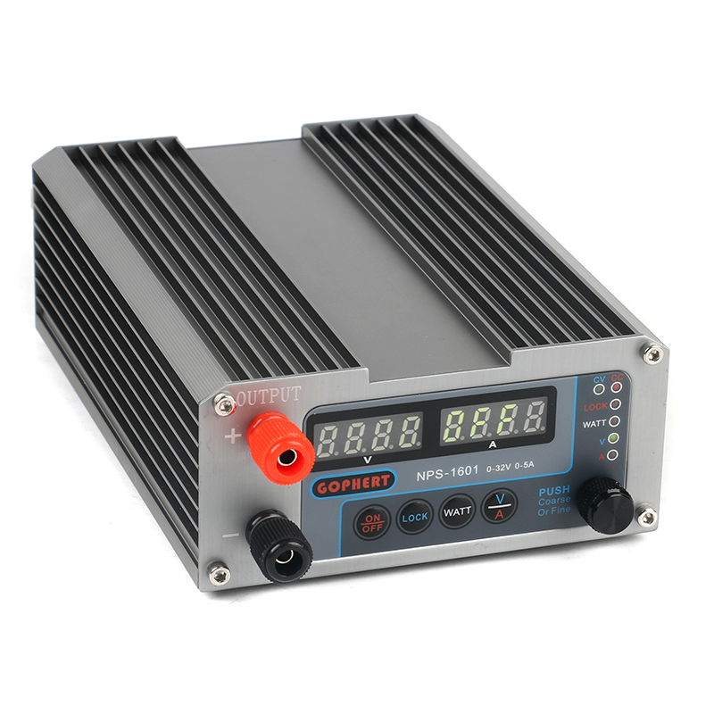 NPS 1601 précision Compact CPS-3205 3205II Version améliorée réglable 4 chiffres DC alimentation OVP/OCP/OTP 32 V 5A EU/US