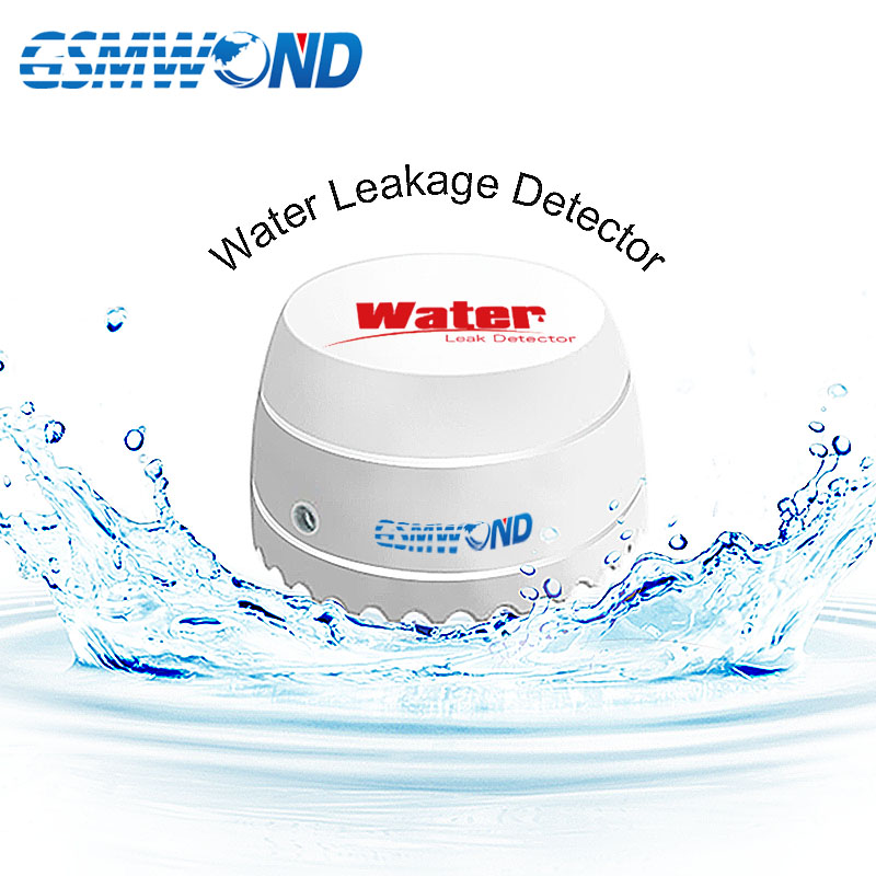 433MHz Wireless Water Leakage Detector Easy Installation Can Be Put At Any Place For Our Home Burglar Wifi / GSM / PSTN Alarm