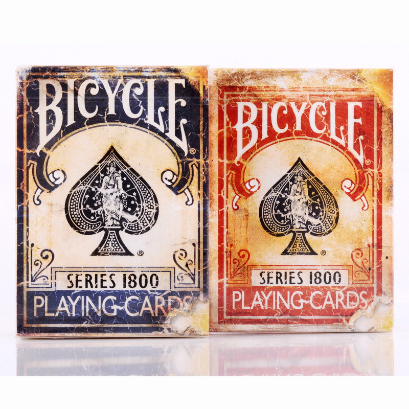 Bicycle Vintage Series 1800Ellusionis Playing Cards 88*63mm