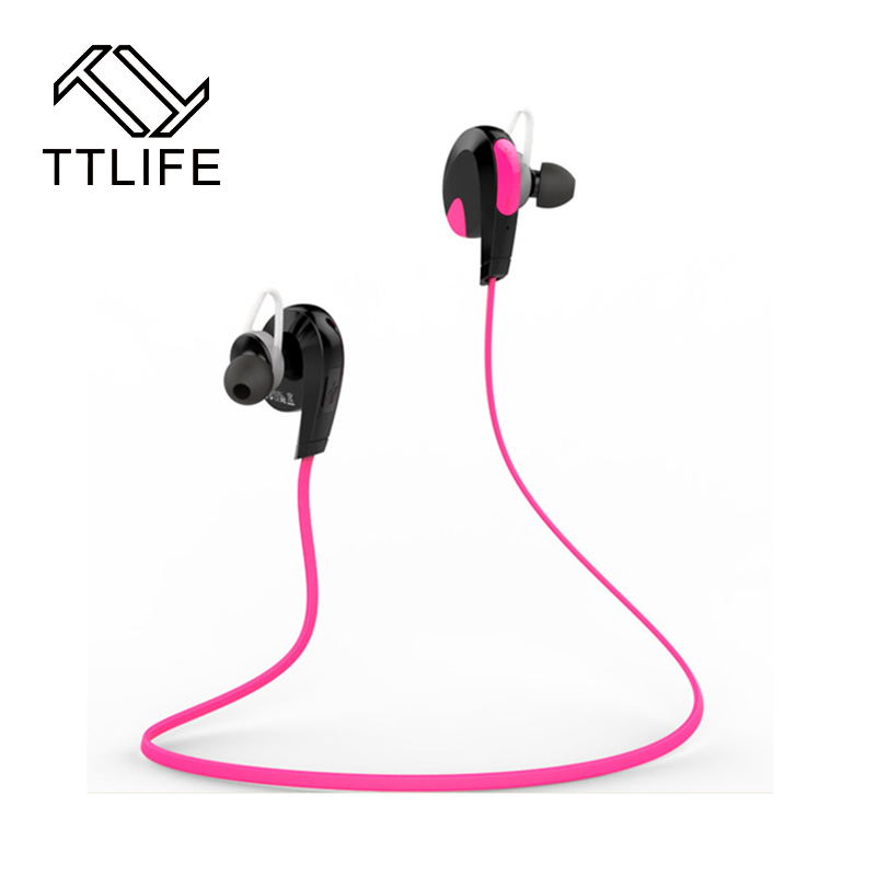 2017 TTLIFE New Bluetooth Headphone Wireless Stereo Sports Earphone Studio Music Earbuds Handsfree Sweatproof Headset For xiaomi
