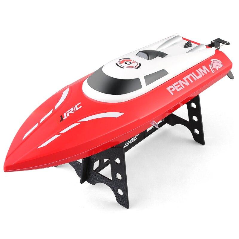 JJRC S1 haute vitesse 25 km/H RC bateau télécommande hors-bord RC bateau jouets cadeaux bateau étanche chiffre d'affaires réinitialiser l'eau refroidissement jouets