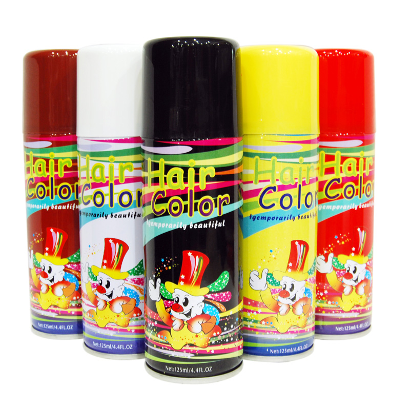 Fast Color Hair Spray Disposable Hair Color Spray Hair Spray With