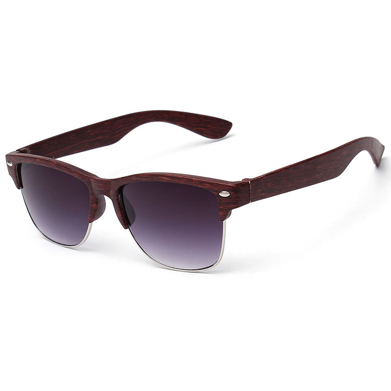 2019 neue Mode Holzimitat Damen Sonnenbrille klassischen Markendesign - Bekleidungszubehör - Foto 3