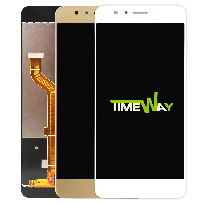 LCD Display + Touch Screen 100% New Digitizer Assembly Replacement Accessories For Huawei Honor 8 5.2 Inch Mobile Phone