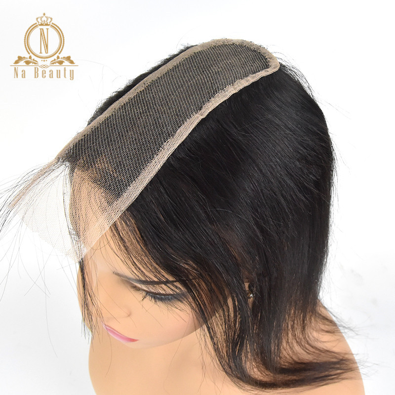 Transparent Lace Closures Straight 2x6 Big Swiss Lace Closure Pre Plucked Baby Brazilian Remy Human Hair Black Natural For Women