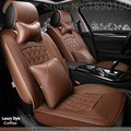 Cubierta de asiento de coche de cuero de alta calidad Especial para Todos Los modelos de Ford mondeo Focus Fiesta S-MAX Edge Explorador Taurus dedicada
