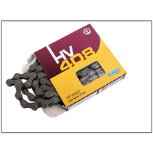 KMC HV408 6 Speed Bicycle Chain Bike for MTB/Road Shimano/SRAM 116L /Chain Grey Brown