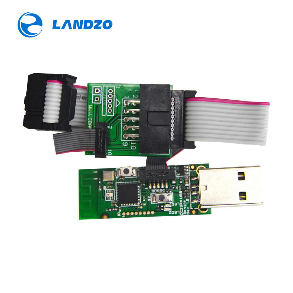 CC2531 Zigbee Sniffer Wireless Board Bluetooth BLE 4 0 Dongle Capture  Module USB Programmer Downloader Cable Connector