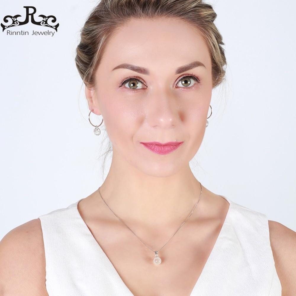 Rinntin Real 925 Mujeres de Plata Esterlina Colgantes y Collares Ojo - Joyas - foto 5