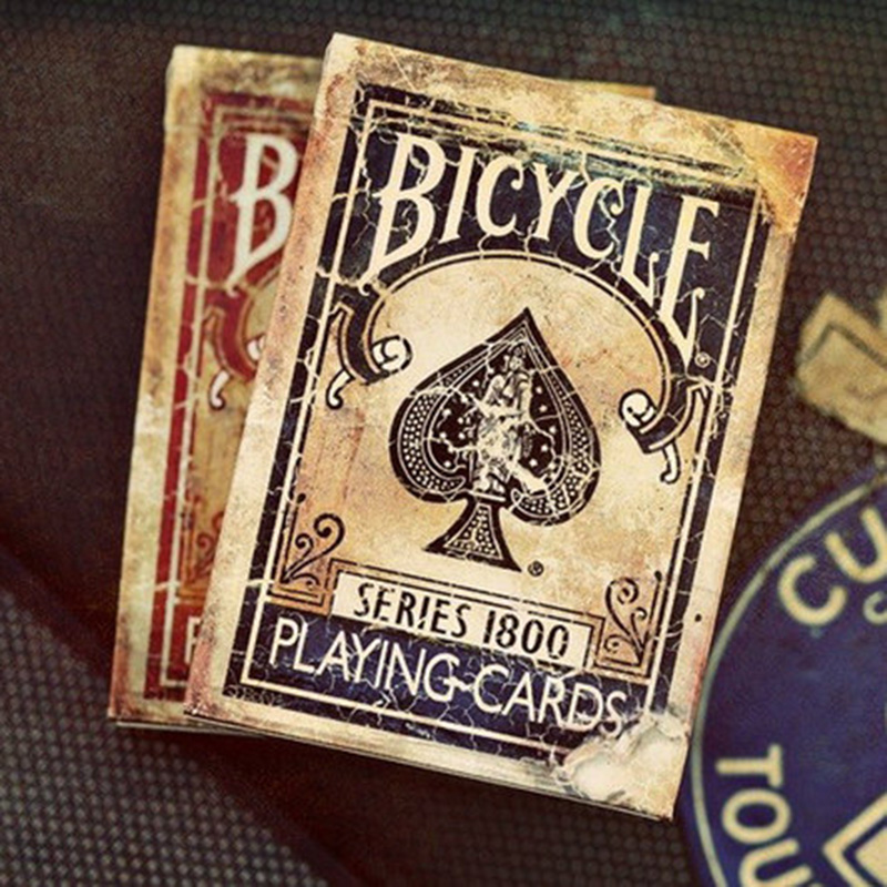 Bicycle Vintage Series 1800 Ellusionis Playing Cards Original Poker Cards for Magician Collection Card Game