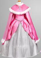 luxury new arrival original ariel princess ariel costume with cloak dress Gown ariel costume fairy Belle Ball