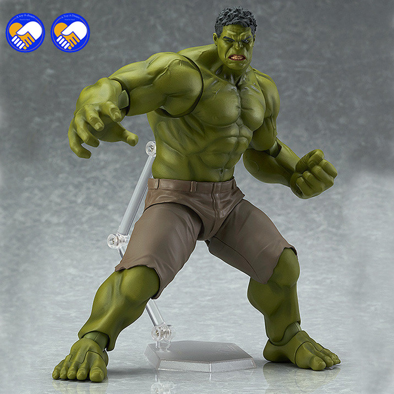 A toy A dream Avengers Hulk Figma 271 PVC Action Figure Collectible Model Toy 19cm avengers movie hulk pvc action figures collectible toy 1230cm retail box