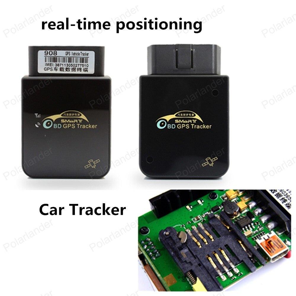 Grande vente COBAN voiture GPS Tracker système GPS GSM GPRS voiture véhicule Tracker Device908 OBD à distance plate-forme web gratuite