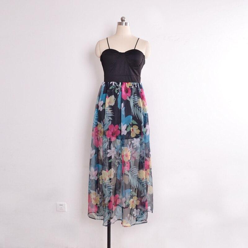 Latest Design Women Sleeveless Summer Beach Chiffon Dress in Dresses from Women 39 s Clothing